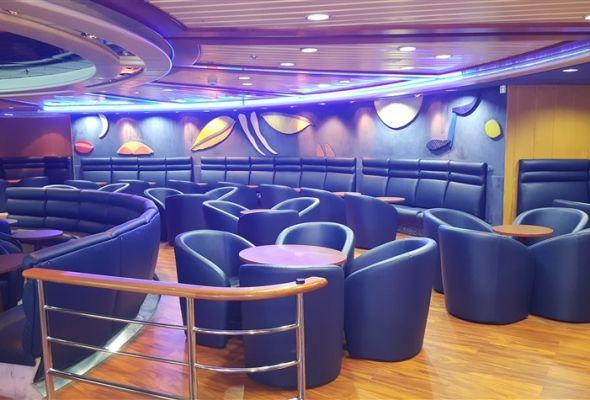 Leisure in Grimaldi's ship
